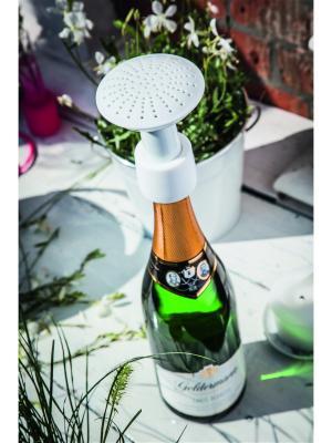 Насадка для бутылки Champagne Shower Donkey. Цвет: белый