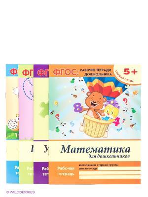 ФГОС: рабочие тетради дошкольника: старшая группа Феникс-Премьер. Цвет: желтый, розовый, светло-голубой, светло-зеленый