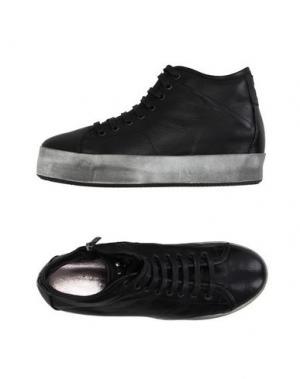 Высокие кеды и кроссовки G.P. PER NOY BOLOGNA. Цвет: черный