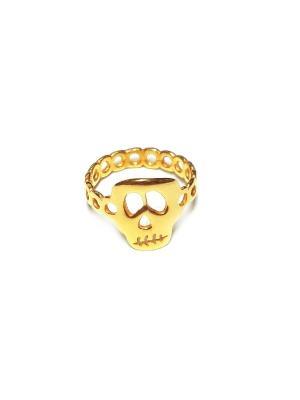 Фредди, кольцо Amorem. Цвет: золотистый