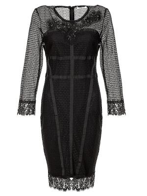 Платье Cristina Effe. Цвет: черный