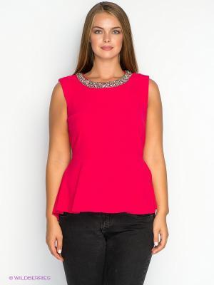Блузка New Look. Цвет: малиновый
