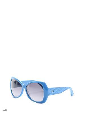 Солнцезащитные очки TO 0084 84B Tod's. Цвет: голубой
