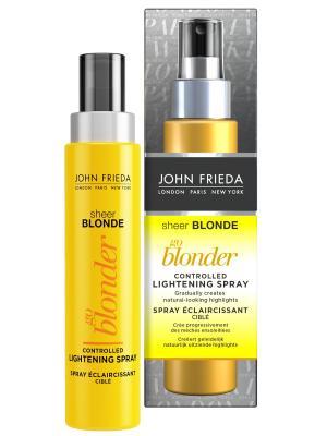 Осветляющий спрей для волос Sheer Blonde Go Blonder, 100 мл John Frieda. Цвет: прозрачный