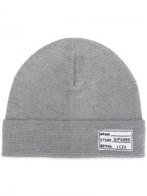 Трикотажная шапка Lc23. Цвет: серый