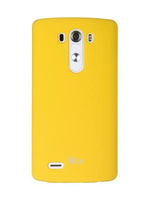 Накладка для LG G3 Shield 4People skinBOX. Цвет: желтый