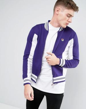 Fila Vintage Спортивная куртка. Цвет: фиолетовый