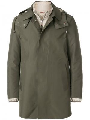 Двухслойная куртка Kired. Цвет: зелёный
