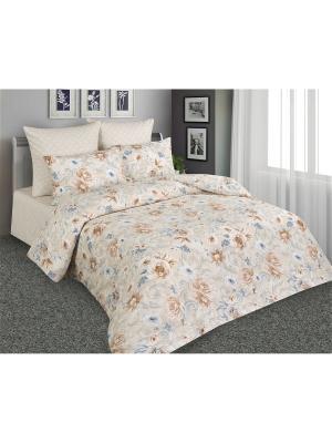 Постельное белье Элегия 1,5 спальный Amore Mio. Цвет: бежевый