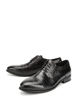 Туфли FANTORY. Цвет: черный