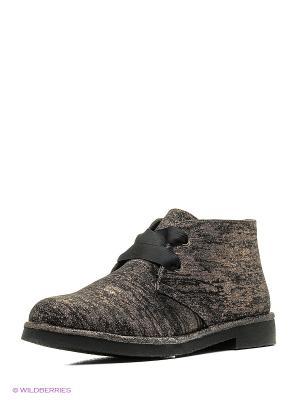 Ботинки Mariamare. Цвет: темно-серый