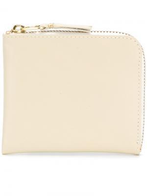 Классический кошелек Comme Des Garçons Wallet. Цвет: телесный