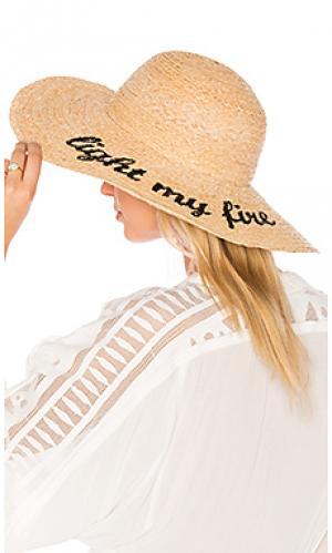 Шляпа light my fire Hat Attack. Цвет: цвет загара