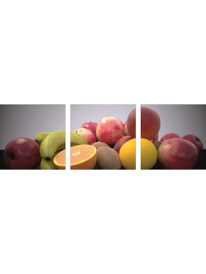 Картина модульная из квадратов 400*400мм ДСТ. Цвет: красный, желтый