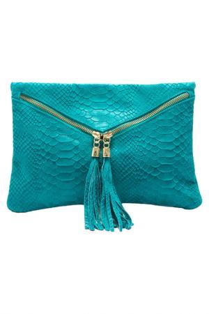 Клатч ROBERTA M. Цвет: turquoise