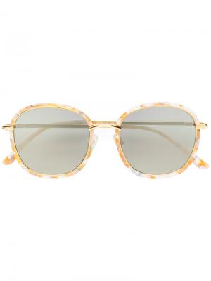 Солнцезащитные очки Mad Crush Gentle Monster. Цвет: жёлтый и оранжевый