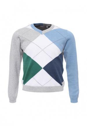 Пуловер Boboli. Цвет: разноцветный
