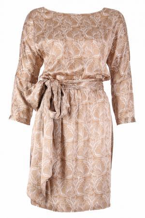 Платье Thomas Wylde. Цвет: карамель