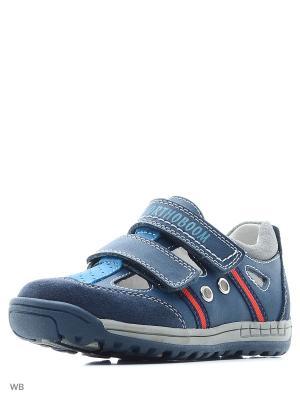 Туфли ортопедические ORTHOBOOM. Цвет: синий, голубой
