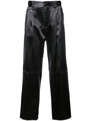 Tailored pleated trousers Icosae. Цвет: чёрный