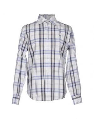 Pубашка 9.2 BY CARLO CHIONNA. Цвет: синий