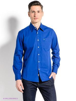 Рубашка Mavango. Цвет: синий