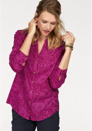 Блузка CHEER. Цвет: ягодный