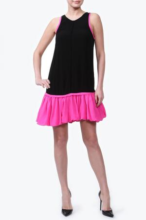 Платье CAMILLA AND MARC. Цвет: черный, фуксия