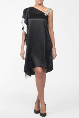 Платье Pietro Brunelli. Цвет: черный