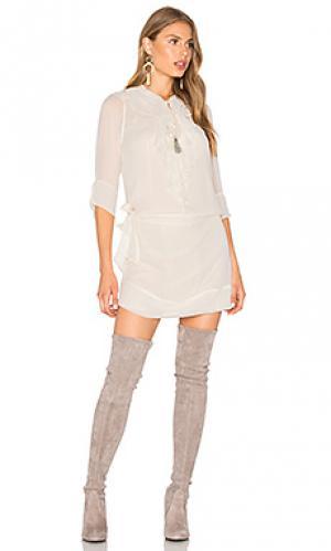 Платье-футляр evie Flannel Australia. Цвет: беж