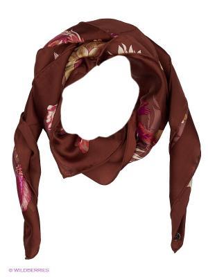 Платок Eleganzza. Цвет: коричневый, бежевый, розовый