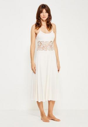 Сорочка ночная Petit Pas. Цвет: белый