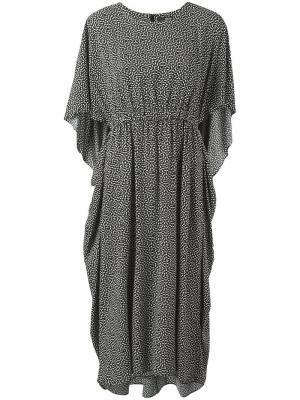 Платье с геометрическим принтом Steffen Schraut. Цвет: чёрный