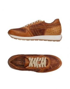 Низкие кеды и кроссовки PRIMABASE. Цвет: коричневый