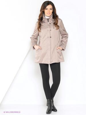 Куртка SUSU Maritta. Цвет: бежевый