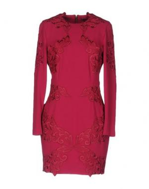 Короткое платье GAETANO NAVARRA. Цвет: пурпурный