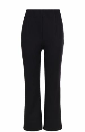 Укороченные расклешенные брюки DKNY. Цвет: синий