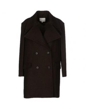 Пальто TROU AUX BICHES. Цвет: зеленый-милитари