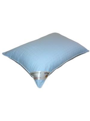 Подушка Элит 50*70 BegAl. Цвет: голубой