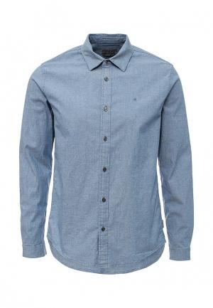 Рубашка джинсовая Calvin Klein Jeans. Цвет: голубой