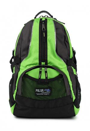 Рюкзак Polar. Цвет: зеленый