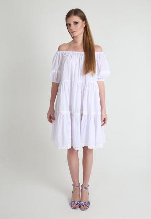 Платье Tailor Che. Цвет: белый