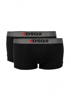 Комплект трусов 2 шт. Dsquared Underwear. Цвет: черный