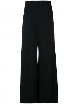 Эластичные брюки Harrison Roland Mouret. Цвет: чёрный