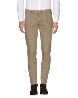 Повседневные брюки DIMATTIA. Цвет: песочный
