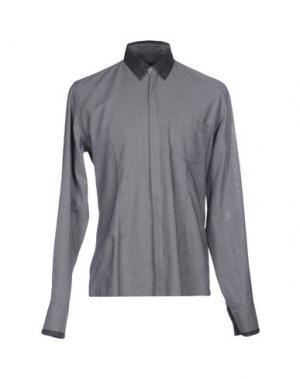 Pубашка DANIELE ALESSANDRINI. Цвет: свинцово-серый