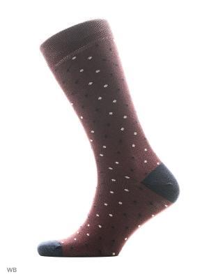 Носки мужские JOHN FRANK. Цвет: бордовый, синий