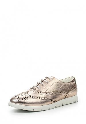 Ботинки Massimo Santini. Цвет: золотой