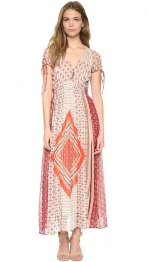 Платье Treasure Warm. Цвет: красный