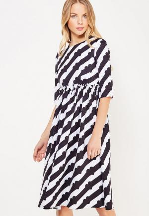 Платье TrendyAngel. Цвет: разноцветный